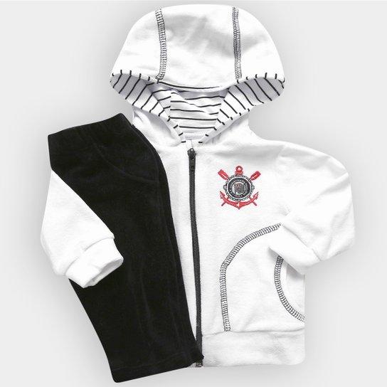 Agasalho Infantil Corinthians Plush c  Capuz - Compre Agora  3498ded1f31ef
