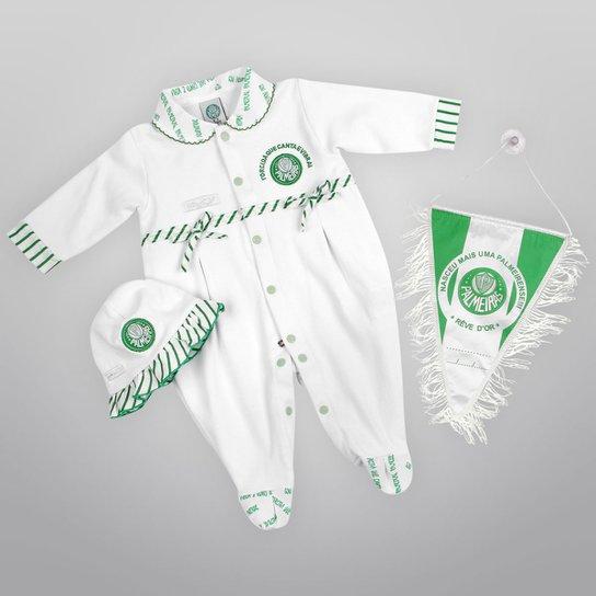 Kit Bebê Luxo Palmeiras - Branco e Verde - Compre Agora  8d7ecdc41da47