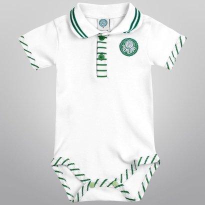 Body Infantil Palmeiras Suedine