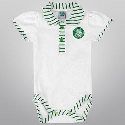 Body Palmeiras Infantil Suedine