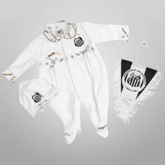 2c8aff362c Kit Maternidade de Bebê Luxo Plush Santos - Branco - Compre Agora ...