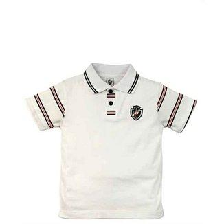5eff38cb37 Camiseta Polo Meia Malha Menino Vasco Reve Dor - 3 Anos