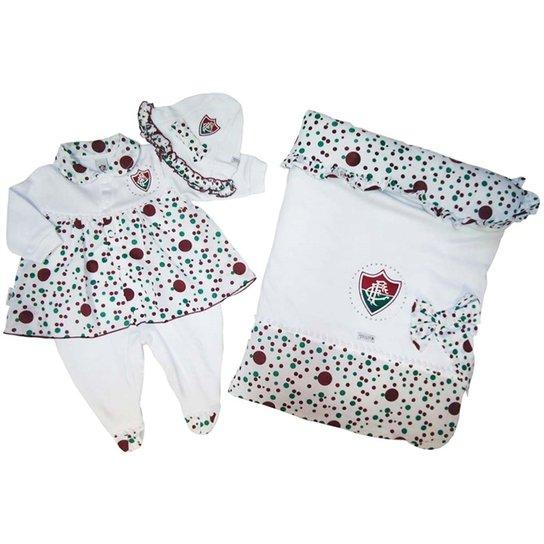 1045215d0311e Saída Maternidade Suedine Vestido Fluminense Reve Dor - Compre Agora ...