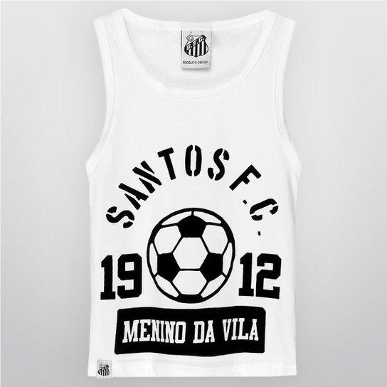 6c4017cea8 Camiseta Regata Santos Menino Da Vila Infantil - Compre Agora
