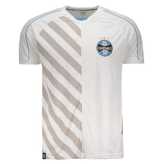 bb81380c3c Camiseta Grêmio Dry Fit Atleta Masculina - Branco - Compre Agora ...