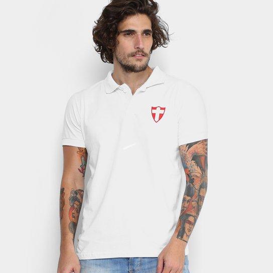 73194a740a Camisa Polo Palmeiras Savoia Masculina - Branco - Compre Agora ...