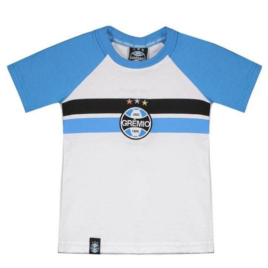 b394aaf934 Camiseta Grêmio Escudo Infantil - Branco - Compre Agora