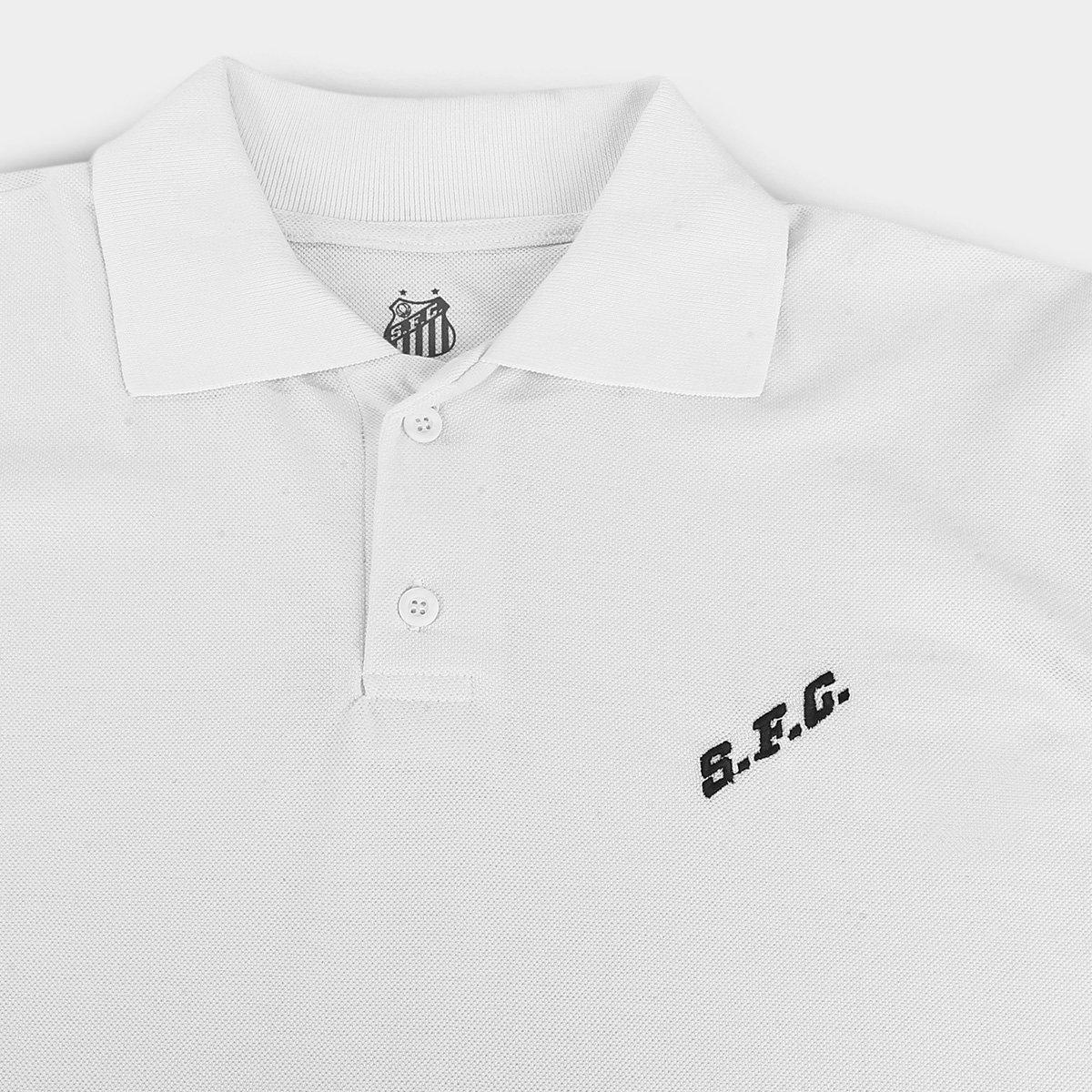 Camisa Polo Santos FC Masculina - Tam: P - 2