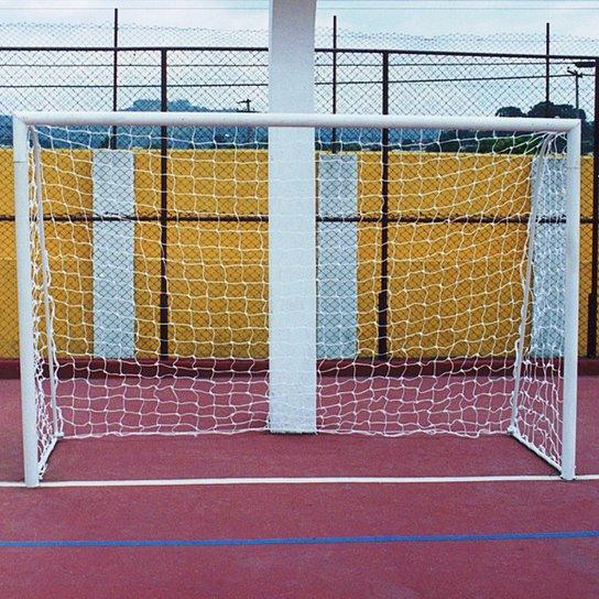 Par de Redes de Nylon Futsal 2 mm - Compre Agora  9dec7ae5c4a9b