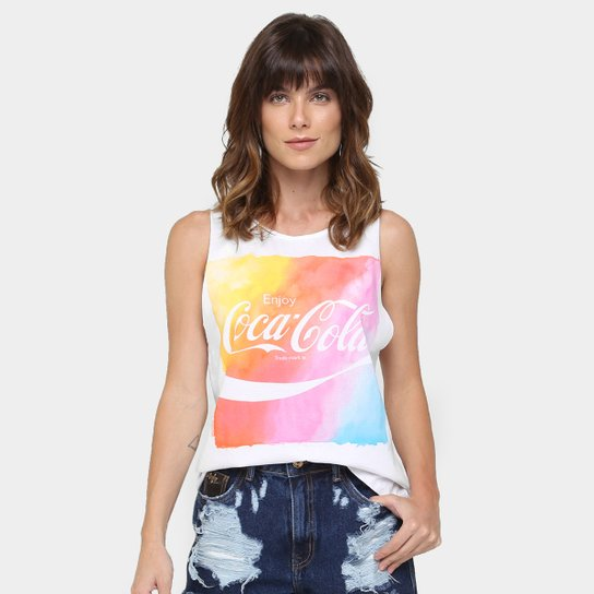 Regata Coca-Cola Estampada - Compre Agora  06eb9181dc2