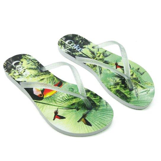 82ad7a7504 Chinelo Coca-Cola Shoes - Compre Agora