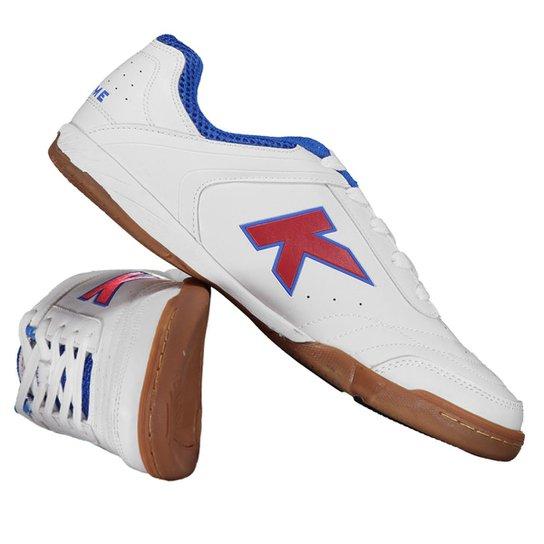 7b94268b1fa Chuteira Kelme Precision Trn Futsal - Branco - Compre Agora