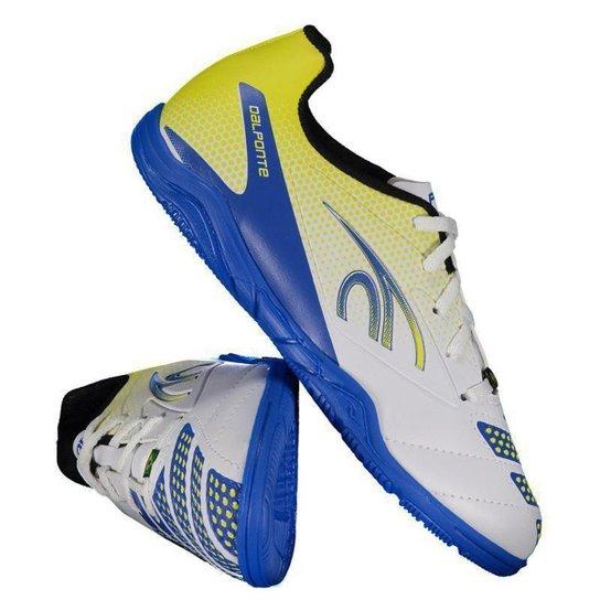 Chuteira Futsal Infantil Dalponte Twister - Branco - Compre Agora ... 3777cab75d99e