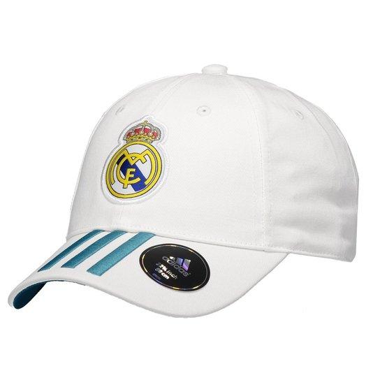 Boné Adidas Real Madrid 3s - Compre Agora  c07e618e858
