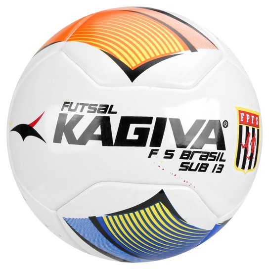 Bola Futebol Kagiva F5 Pro Sub 13 FPFS Futsal Infantil - Compre ... 159a9df4ff38a