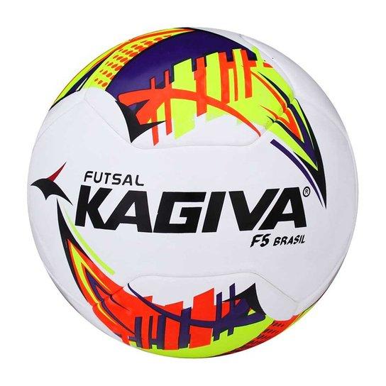 Bola Kagiva F5 Brasil Futsal - Compre Agora  2293f390f4773