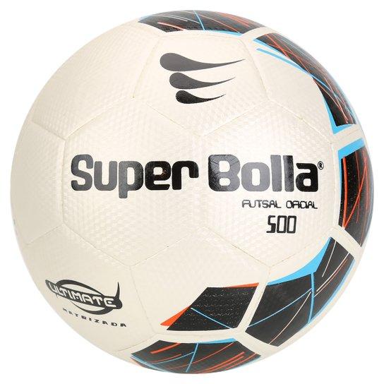 Bola Futebol Super Bolla Ultimate Matrizada 500 Futsal - Prata+Preto a5a1136f295ba