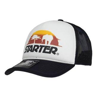 Boné Starter Aba Curva Snapback Trucker Africa Sunday ca611e49f3e