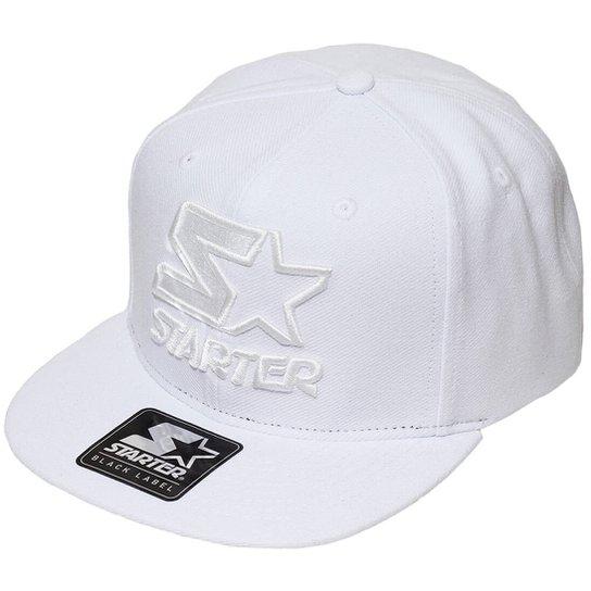 Boné Starter Aba Reta Snapback Whiteout - Compre Agora  06e699a4249