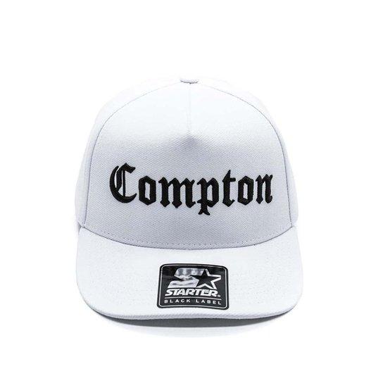 Boné Starter Compton - Branco - Compre Agora  9a08d6fe22e