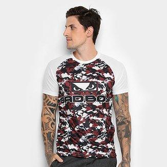 Camiseta Bad Boy New Camouflage Masculina 5a5cd5655e330