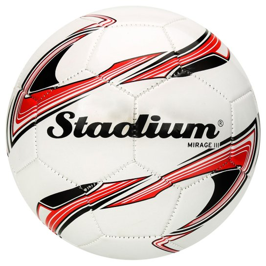 b9a3d93489 Bola De Futebol Stadium Mirage Iii - Stadium - Campo - Branco - Branco
