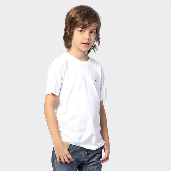 dd77521e80eae Camiseta Lacoste Básica Infantil - Compre Agora   Netshoes