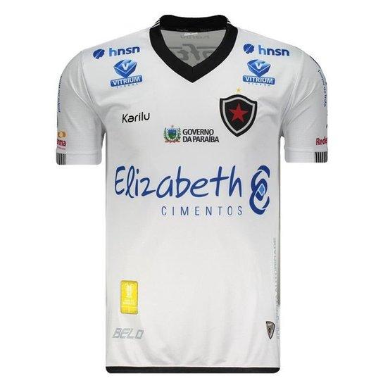 Camisa Karilu Botafogo PB II 2018 Masculina - Branco - Compre Agora ... 1cacdecd20fce
