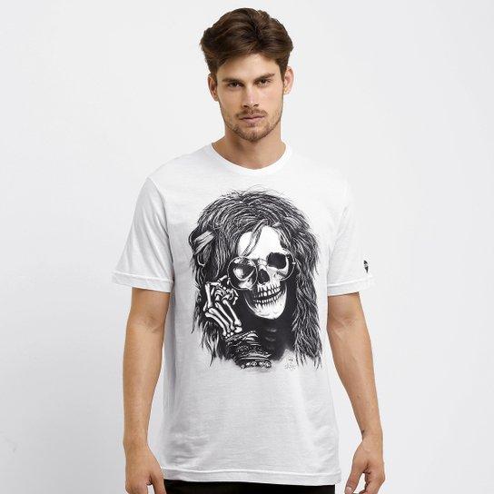 86ec45f4ad Camiseta MCD Janis Joplin - Branco