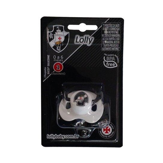 Chupeta Lolly Baby Vasco Redonda - Compre Agora  23bfc2798fb29