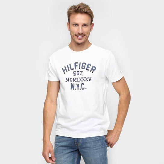 57c284675 Camiseta Tommy Hilfiger Estampada NYC - Compre Agora