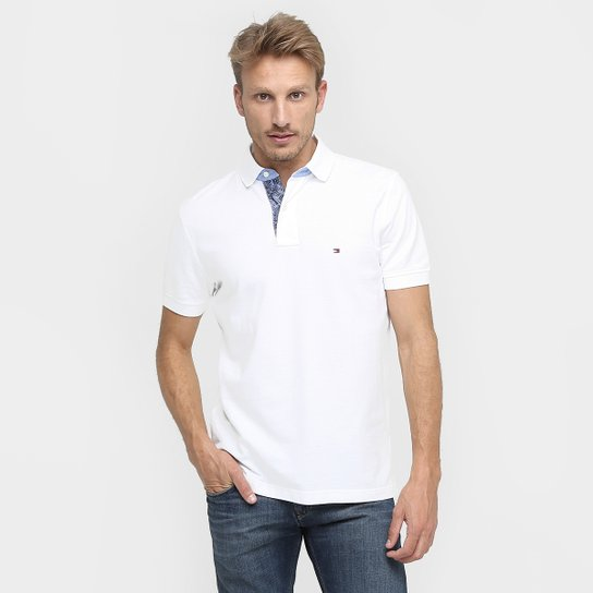 a8e94c5983 Camisa Polo Tommy Hilfiger Piquet Regular Fit - Compre Agora
