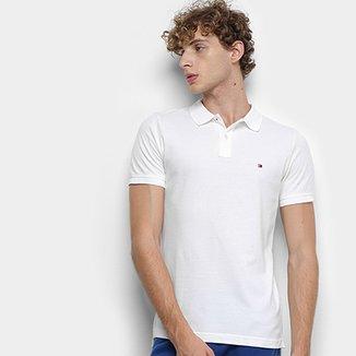 58e722b08372 Camisa Polo Tommy Hilfiger Global Stripe Insert Slim Masculina