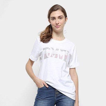 Camiseta Tommy Hilfiger Tyara C-Nk Tee Feminina