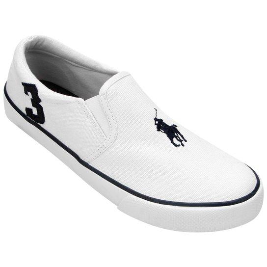 3c9102e7e29a8 Tênis Polo Ralph Lauren Seth Slip On Juvenil | Netshoes