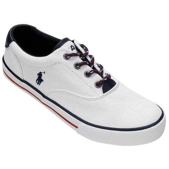 c072b2e929 Tênis Polo Ralph Lauren Vaughn Low Canvas Juvenil   Netshoes