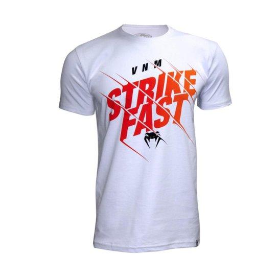 Camiseta Venum Strikefast - Branco - Compre Agora  57aa70c2e2394