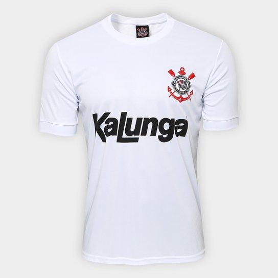 Camiseta Corinthians Réplica 1988 - Branco - Compre Agora  1bd940711974c
