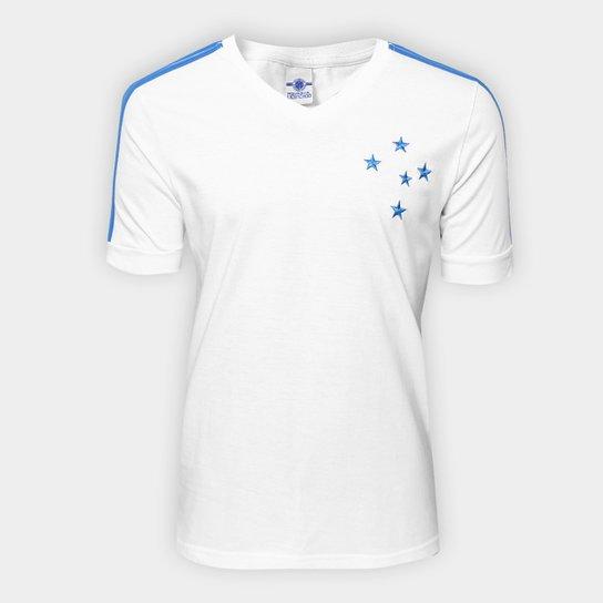 Camiseta Cruzeiro Masculina - Branco - Compre Agora  31e224eb13d3a