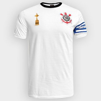 4d7f9949f8 Camiseta Corinthians Capitães Libertadores 2012 n° 2 Masculina