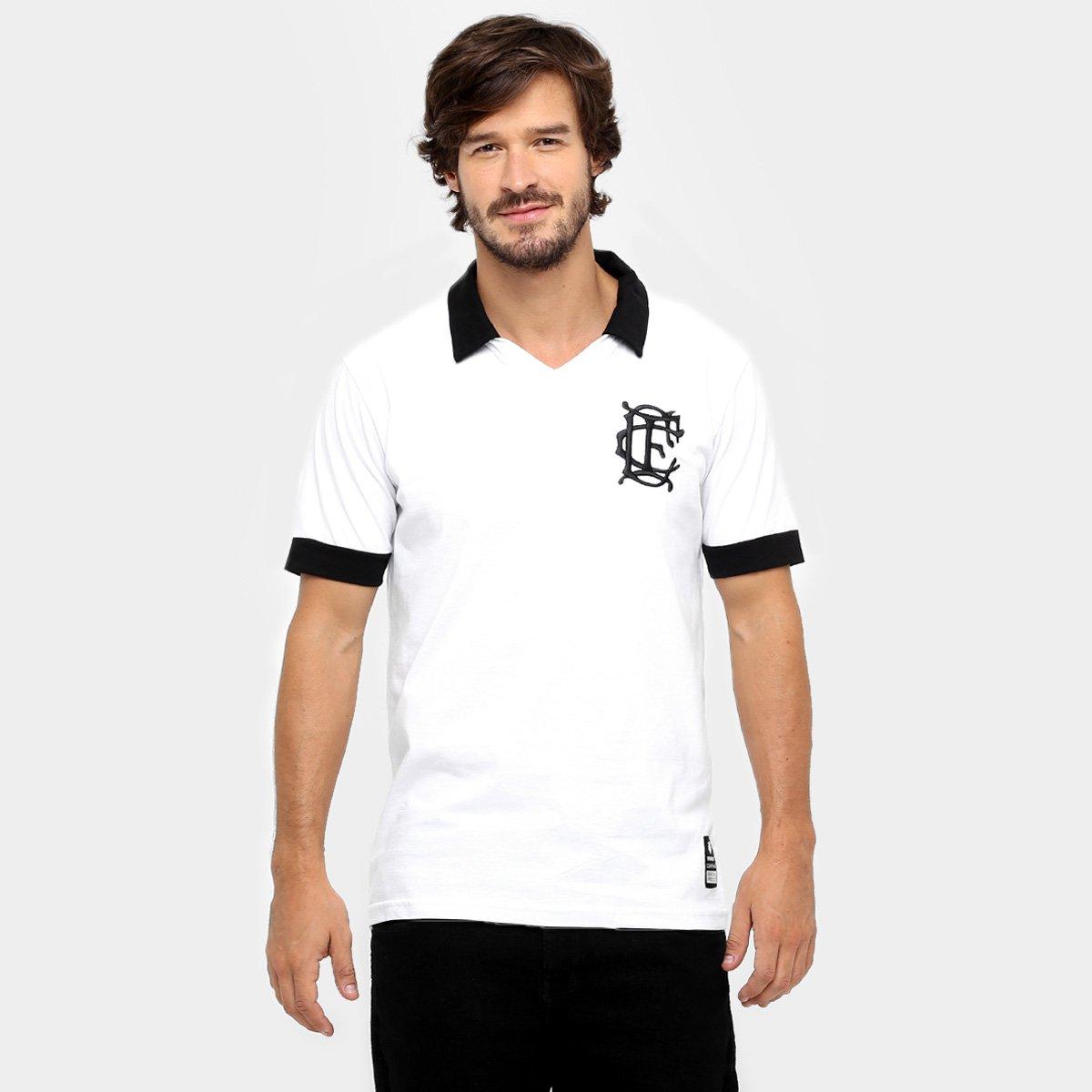 Camisa Polo Corinthian-Casuals Retrô Masculina - Tam: P