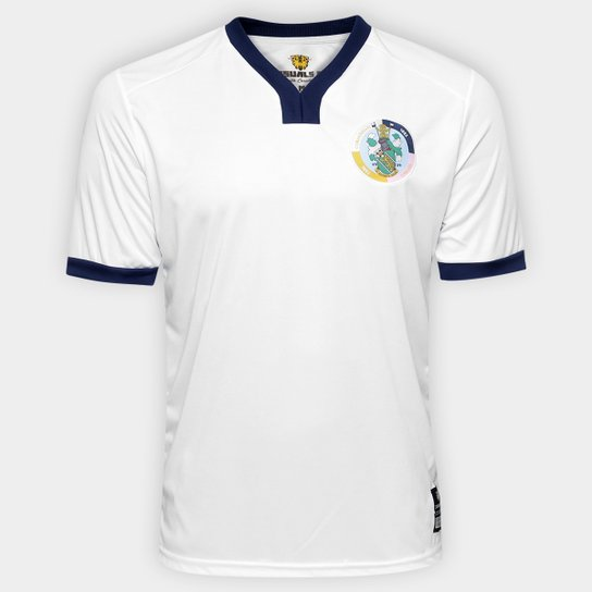 250e7c3187 Camisa Corinthian Casuals Away 17 18 - Torcedor Masculina - Branco ...
