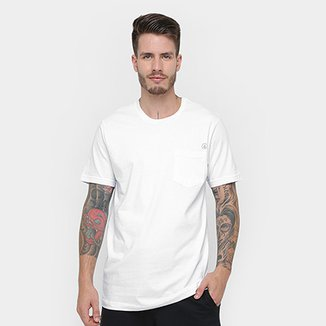 ae2828eb2c Camiseta Volcom Silk Long Fit Solid Pocket Masculina
