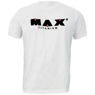Camiseta Branca - Max Titanium 807d7f8fb02a3