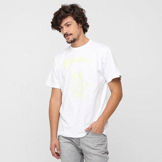 Camiseta Quiksilver Básica Morrito Death 3cde2bdd4df