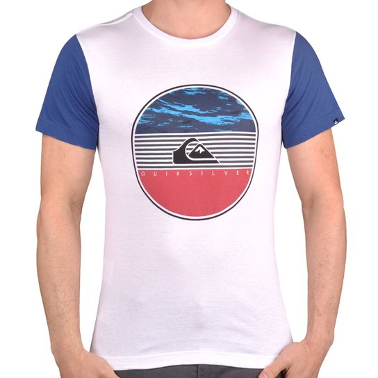c3d74487be3c1 Camiseta Quiksilver In The Water Juvenil - Compre Agora