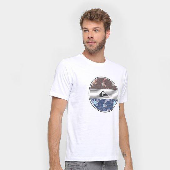 Camiseta Quiksilver Básica Fresh Masculina - Branco - Compre Agora ... 4a2e8ba7bd