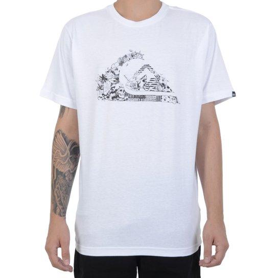 Camiseta Quiksilver Ocean Logo - Compre Agora   Netshoes aab5e52564