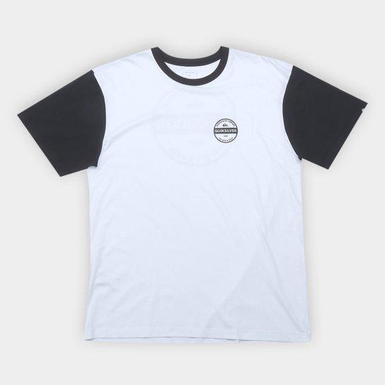 Camiseta Plus Size Quiksilver Basic Masculina - Compre Agora   Netshoes d6a62978ef