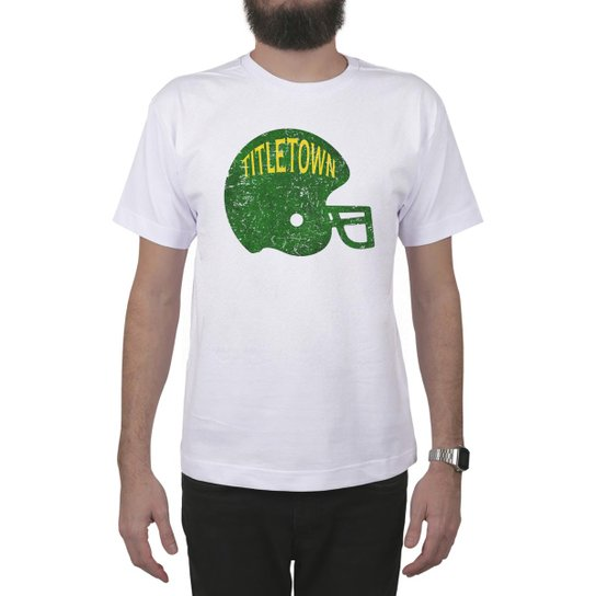 b1378852f5 Camiseta PROGear Green Bay Helmet Tittletown - Compre Agora